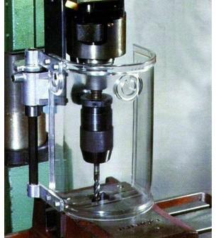 Protector para taladro vertical redondo sin seguridad eléctrica - Protección para taladro vertical redonda,