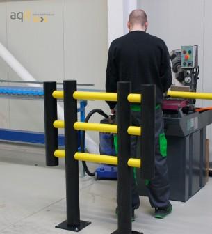 "Barrera de protección flexible ""Foxtrot"", anch. 1 m - Barrera de protección flexible ""Foxtrot"","