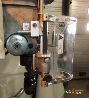 Protección para taladro vertical redonda con seguridad eléctrica - Protección para taladro vertical redonda,