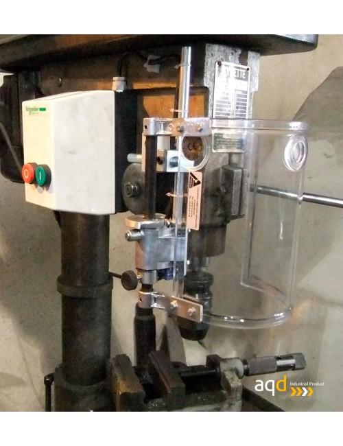 Protección para taladro vertical redonda con seguridad eléctrica
