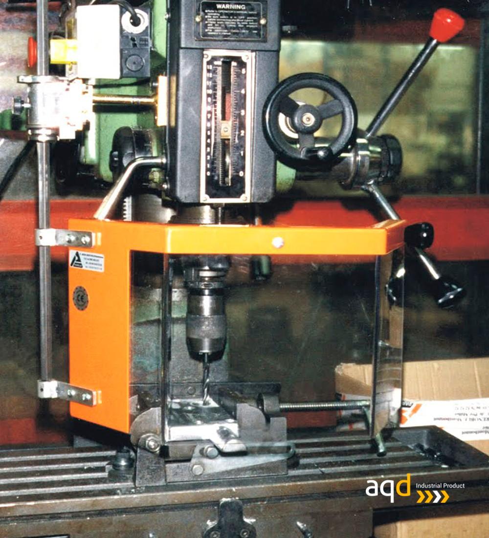 Protección para taladros radiales / fresadoras con seguridad eléctrica - Protección para taladros radiales / fresadoras,