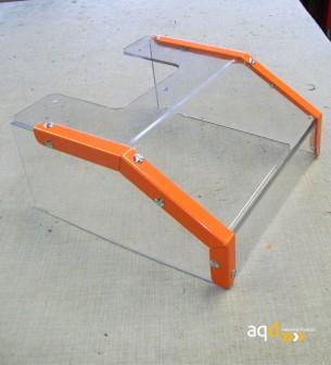 Protección para taladros radiales sin seguridad eléctrica - Protección para taladros radiales,