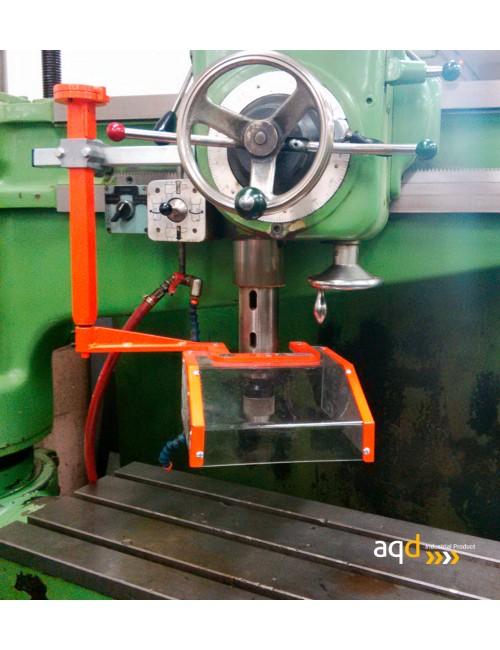 Protección para taladros radiales con seguridad eléctrica