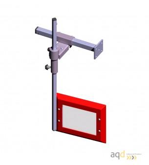 Protección para taladros verticales de sobremesa y de columna