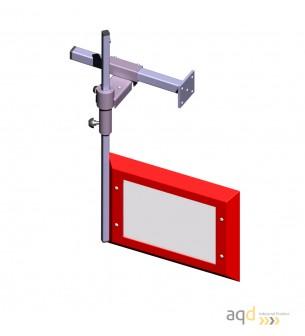 Protección para taladro vertical de sobremesa y de columna AQDPRO-C20-SE - Protecciones para taladros