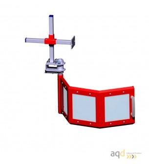 Protección para taladros verticales de columna y taladros radiales