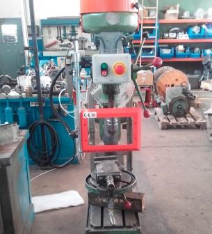 Protección para taladros verticales de sobremesa y de columna AQDPRO-C10-SE - Protecciones para máquina-herramienta,