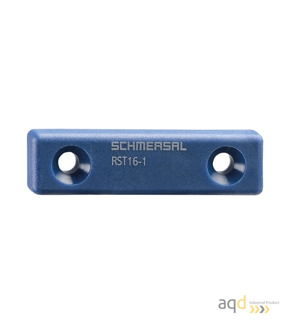 Schmersal Actuador forma plana RST16-1 - Sensor y actuador de Seguridad RSS 16 - RST 16