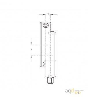 Schmersal Sensor electrónico de seguridad RSS 36-D-ST - Sensor y actuador de seguridad RSS 36 - RST 36