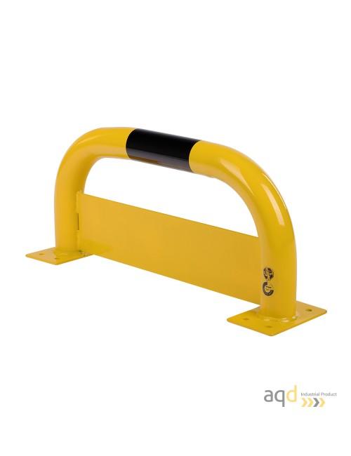 Protección puente de acero con rodapiés, 350 mm (alt.) x 750 mm (anch.)
