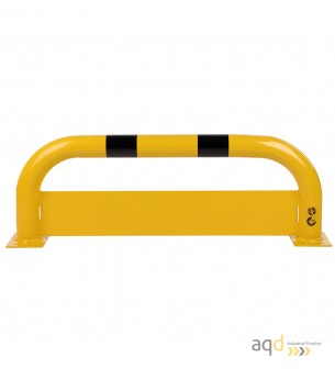 Protección puente de acero con rodapiés, 350 mm (alt.) x 1000 mm (anch.) - Protección puente de acero con rodapiés