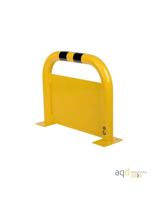 Protección puente de acero con rodapiés, 600 mm (alt.) x 750 mm (anch.)
