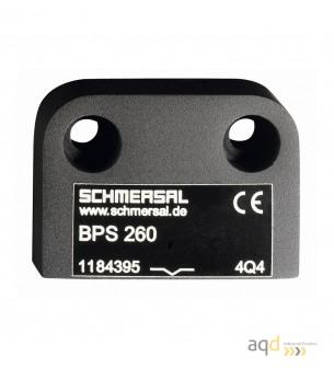 Schmersal Actuador para sensor magnético BPS 260-1 - Interruptor magnético de Seguridad BNS 260