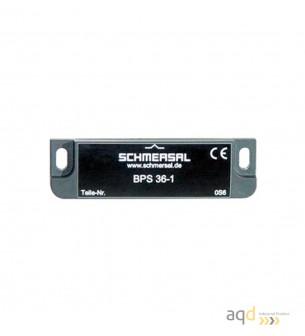 Schmersal Actuador para sensores magnéticos BPS 36-1 - Interruptor magnético BNS 36 con actuador por separado BPS 36