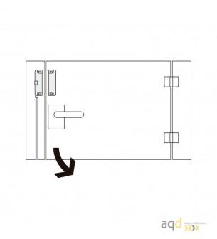 Schmersal Actuador para sensores magnéticos BPS 36-1 - Schmersal Interruptor magnético BNS 36 con actuador por separado BPS 36
