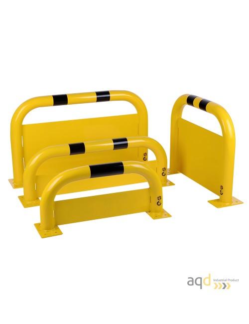 Protección puente de acero con rodapiés