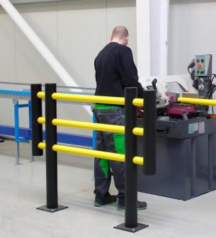 "Barrera de protección flexible ""Foxtrot"", anch. 2m - Barrera de protección flexible ""Foxtrot"","