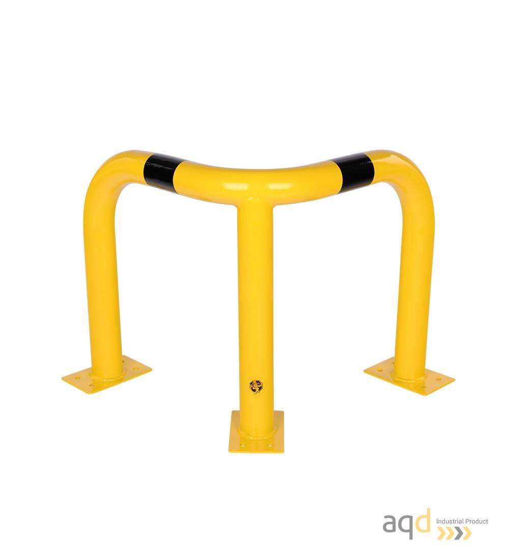 Protección esquinera de acero, 600 mm (alt.) - Protección esquinera de acero