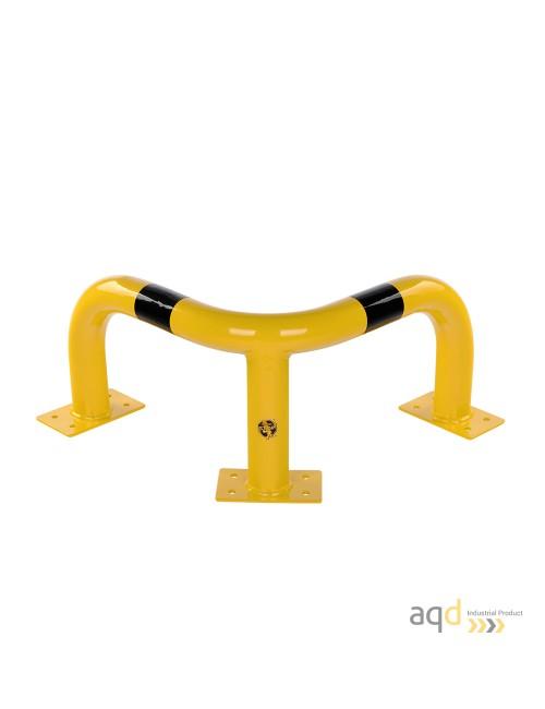 Protección esquinera de acero, 350 mm (alt.)