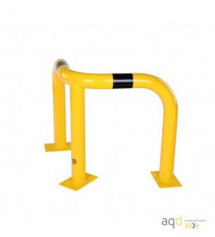 Protección esquinera de acero galvanizado, 600 mm (alt.) - Protección esquinera de acero galvanizado