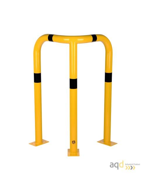Protección esquinera de acero galvanizado, 1200 mm (alt.)