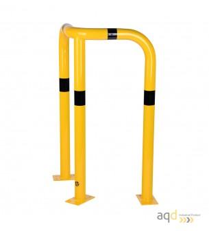 Protección esquinera de acero galvanizado, 1200 mm (alt.) - Protección esquinera de acero galvanizado