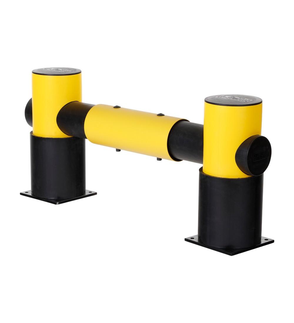 Barrera flexible Golf: 1 travesaño 1100 mm x 500 mm x 220 mm - Barrera para estanterías flexible