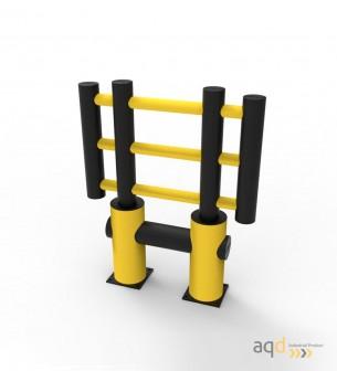 """Barrera de protección flexible """"Kilo"""", 1200 mm (alt.), 1000 mm (anch.) - Barrera de protección flexible """"Kilo"""","""