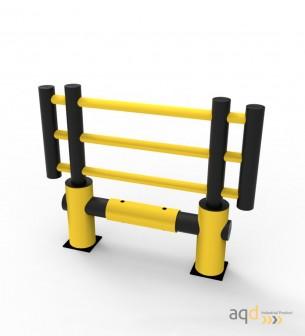 """Barrera de protección flexible """"Kilo"""", 1200 mm (alt.), 1500 mm (anch.) - Barrera de protección flexible """"Kilo"""""""