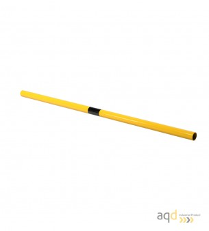 Travesaño, 1500 mm (anch.) para barandilla de seguridad modular de acero - Barandilla de seguridad modular de acero de 48 mm ...