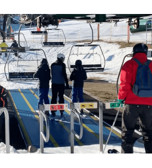 Sistema de seguridad inalámbrico para estaciones de esquí AQD-E-STOP - Equipos inalámbricos para seguridad industrial Bajo pe...