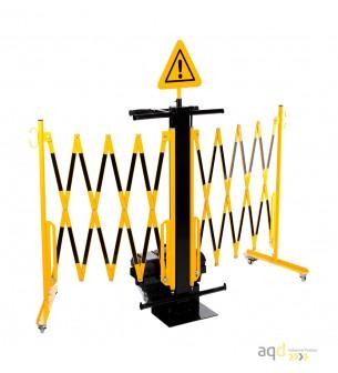 Carrito de barreras extensibles - Carrito de barreras extensibles,