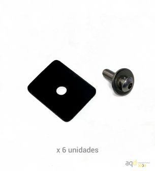 Vallado modular anticontagio Covid19 - aqdGuard® TRANSLUD - Sistemas Anticontagio  Bajo pedido
