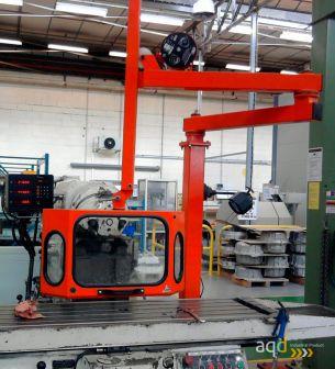 Protección universal articulada y regulable para máquina herramienta - Protecciones para máquina-herramienta, Bajo pedido