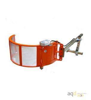 Protección batiente para fresadora, con Seguridad Eléctrica - Protecciones para máquina-herramienta,