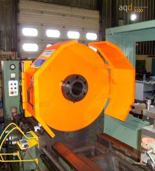 Protección para tornos con plato de gran diámetro - Protecciones para máquina-herramienta,