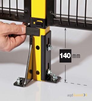 ADQ Guard Basic altura al suelo