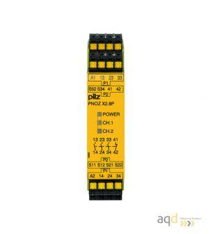 Relé de seguridad PNOZX2.8P - PLC, relés y dispositivos de seguridad