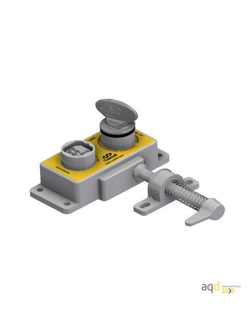 AIE Enclavamiento mecánico de acceso de doble llave
