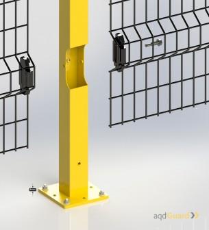 Vallado de Seguridad Modular - aqdGuardAdapta  - Vallado de Seguridad, Bajo pedido