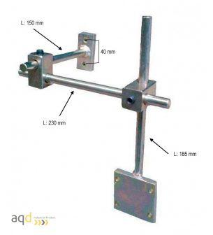 Soporte universal para fijación de taladro/fresadora - Protecciones para máquina-herramienta,