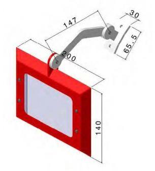 Protección para esmeriles - afiladoras AQDPRO-C100 - Protecciones para máquina-herramienta,