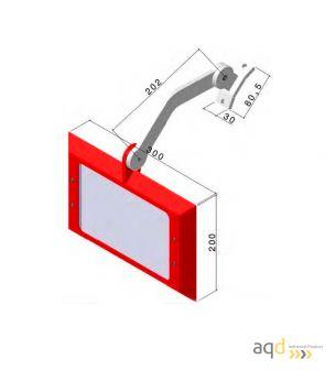 Protección para esmeriles - afiladoras AQDPRO-C110 - Protecciones para máquina-herramienta,