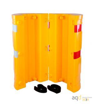 Protección de polietileno para columnas de 160 x 160 mm - Protección de polietileno para columnas