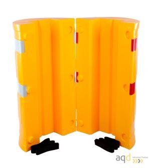 Protección de polietileno para columnas de 210 x 210 mm - Protección de polietileno para columnas
