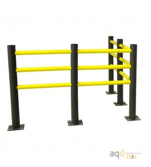 Barrera de seguridad flexible