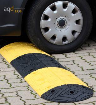 Banda reductora de velocidad pieza inicial amarilla 250 x 420 x 50 mm - Banda reductora de velocidad