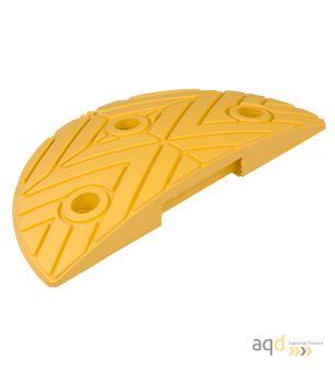 Banda reductora de velocidad pieza terminal amarilla 250 x 420 x 50 mm - Banda reductora de velocidad