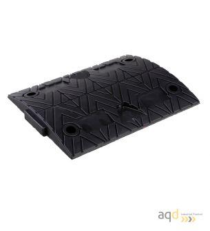Banda reductora de velocidad pieza intermedia negra 500 x 420 x 75 mm - Banda reductora de velocidad