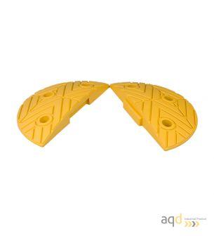 Banda reductora de velocidad pieza inicial amarilla 250 x 420 x 75 mm - Banda reductora de velocidad